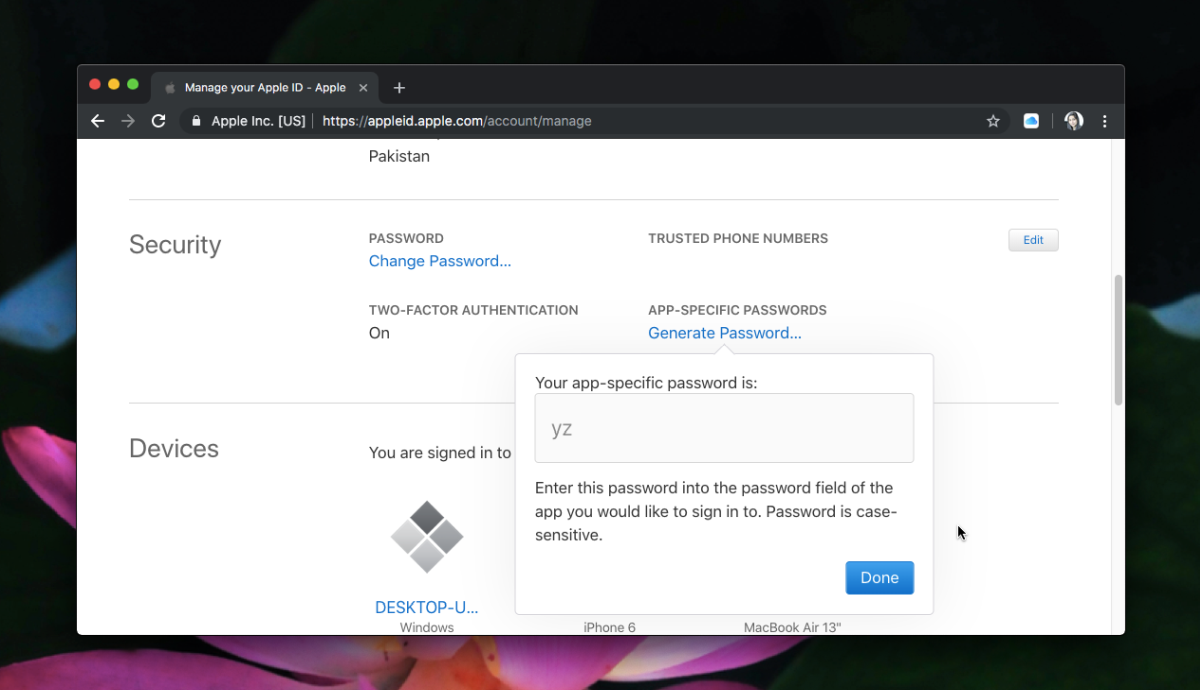 How to create appspecific passwords for an Apple ID (With