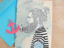"Postkarte ""Sailors son"""