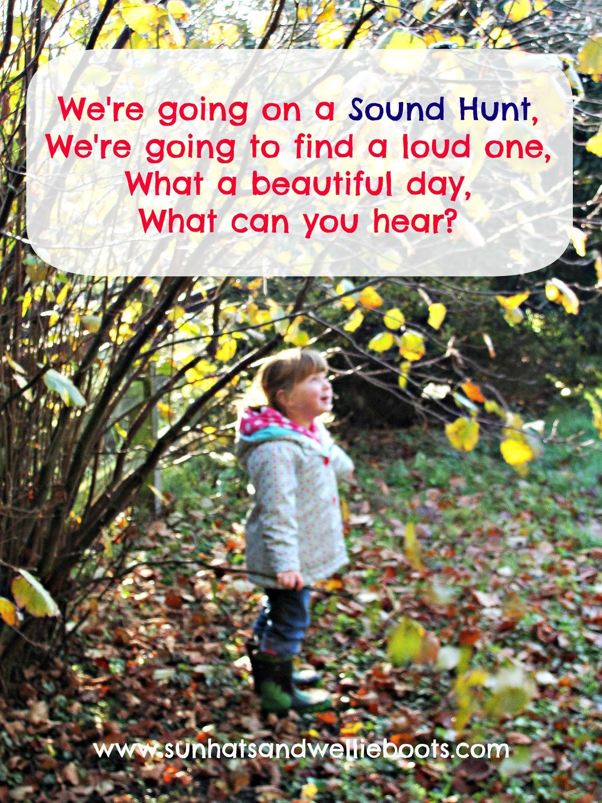 Image result for going on a sound hunt