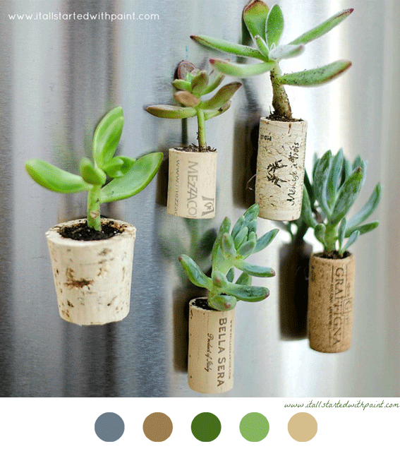 Diy Decorating Crafts pots en bouchon de liège #diy #décoration #decoration #craft | diy