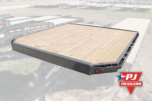 Gooseneck Deck On The Neck Tiny House Trailer Deck Over Trailer Trailer Deck