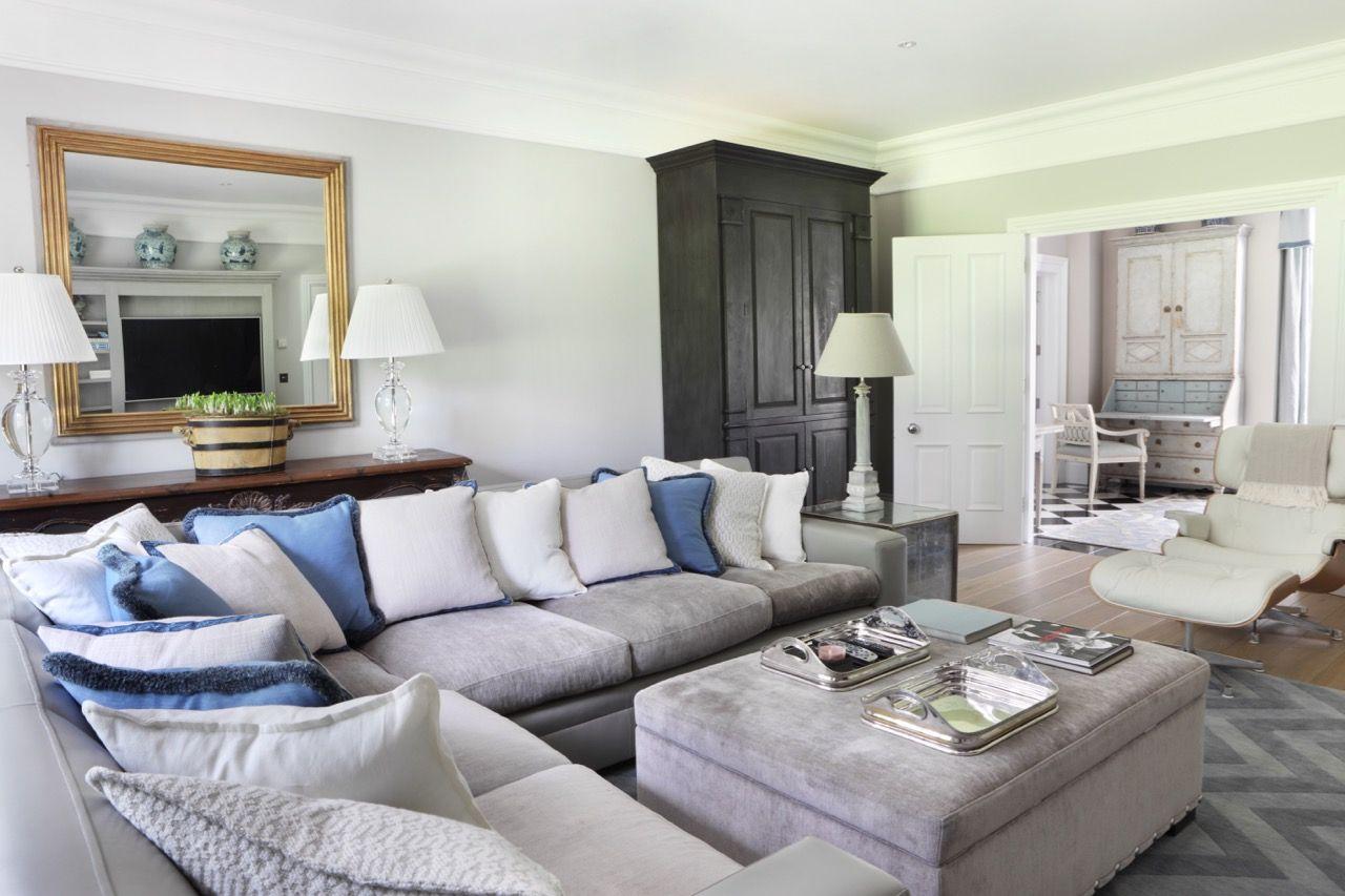 Ham Interiors Beaconsfield interior design Living Rooms