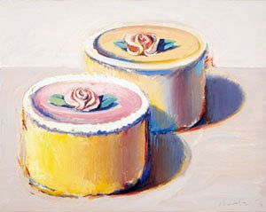 wayne thiebaud cupcake - Google Search | Wedding art | Pinterest ...