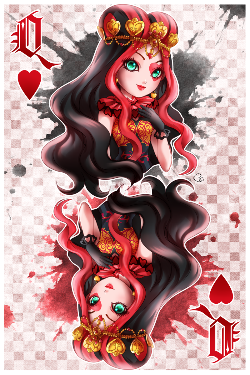 LIZZIE HEARTS - Ever After High by KagomesArrow77 on deviantART