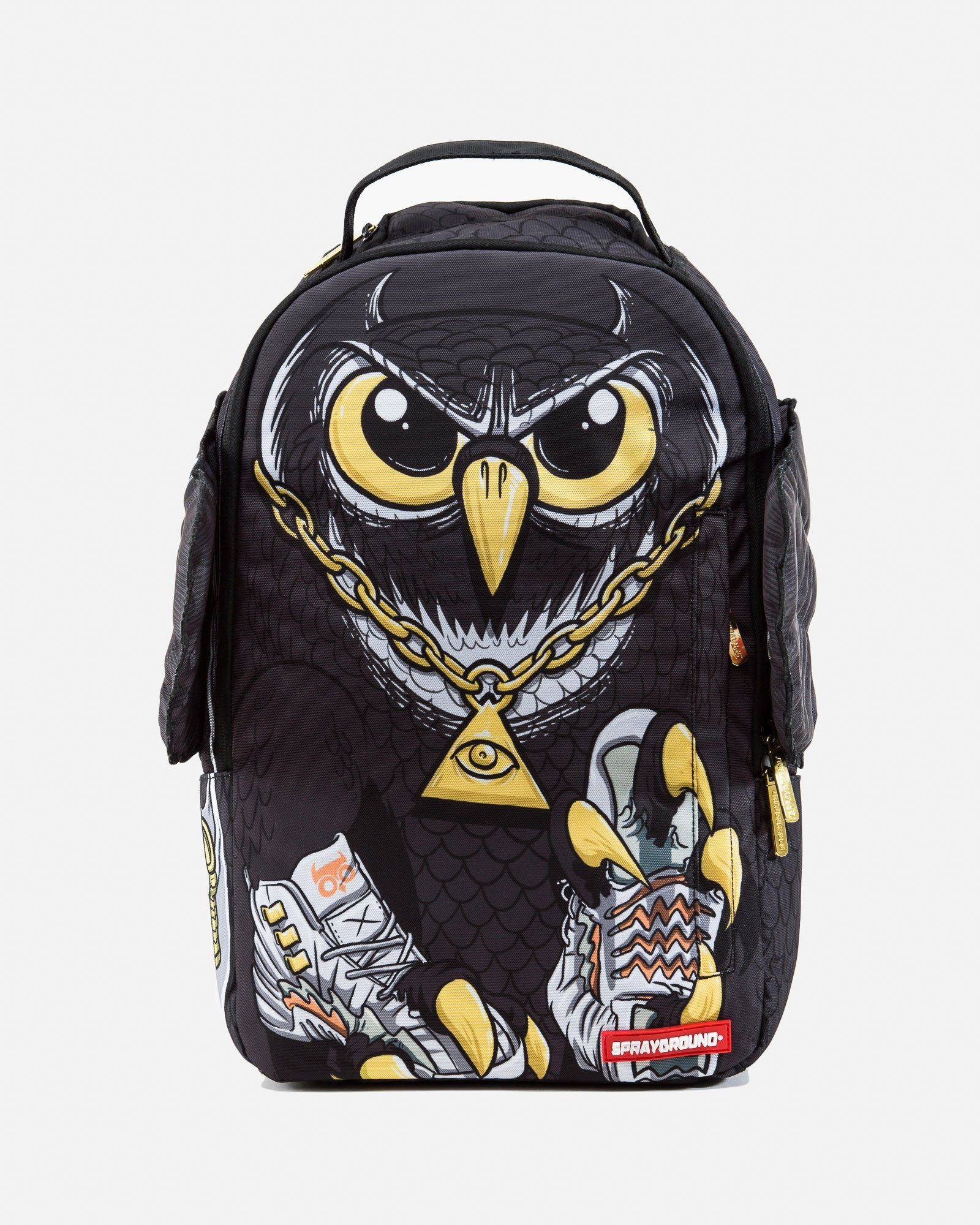74b3e61096ef7 Owl Wings Bag Backpak | Sprayground in 2019 | Bags, Backpack bags ...