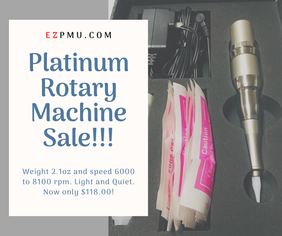 Platinum Rotary Machine on Sale for only 118, normally