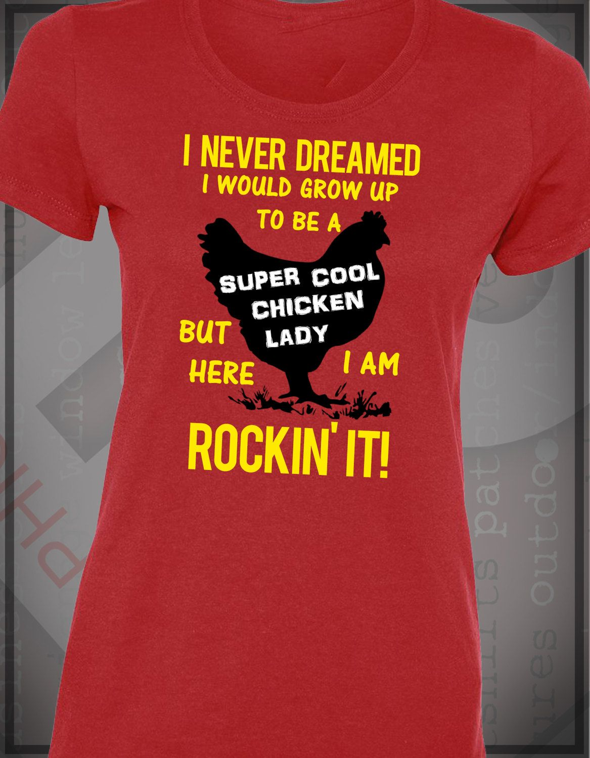 Super Cool Chick Lady - T-Shirt - MADE IN MICHIGAN