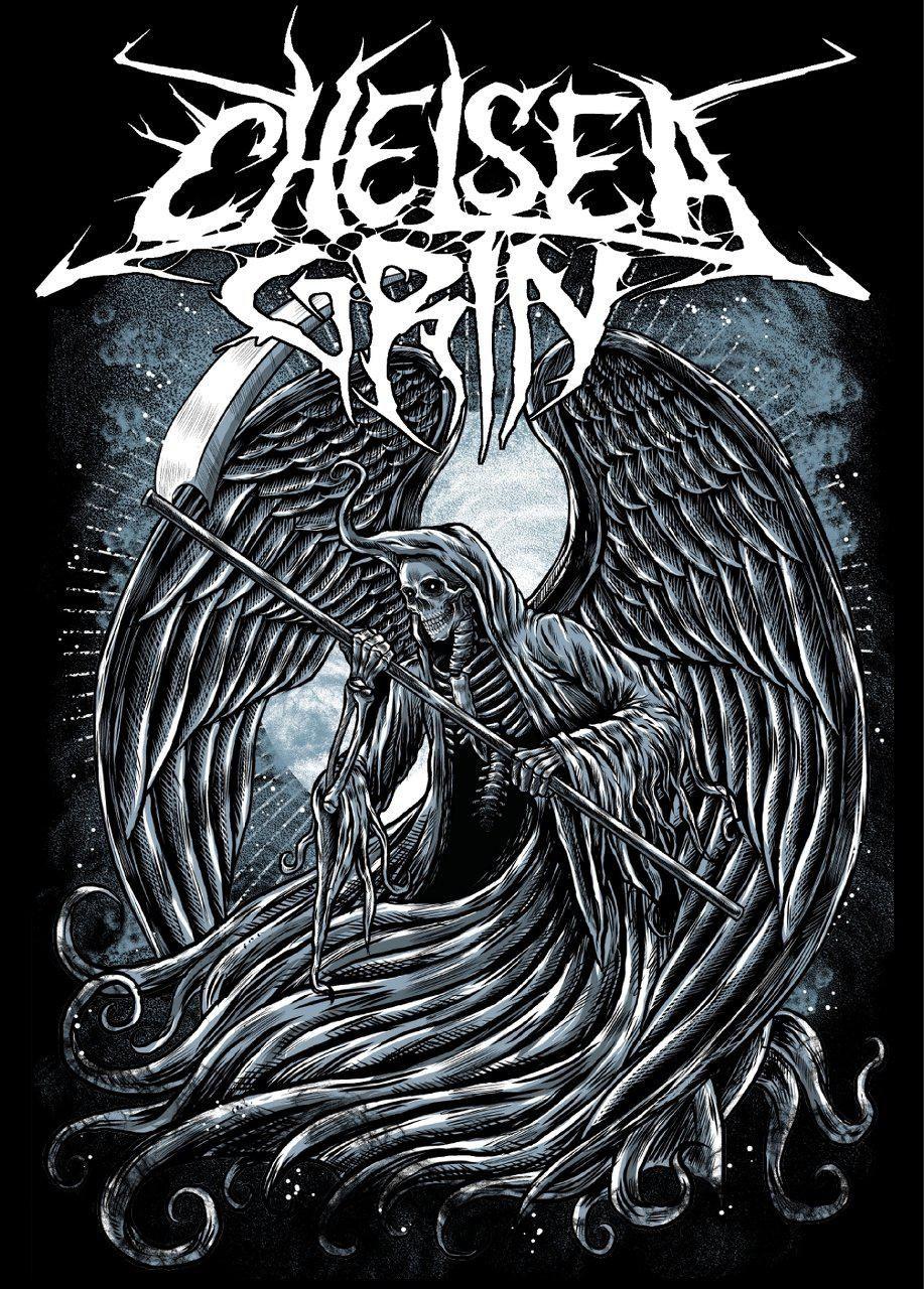 Chelsea Grin in 2019 Metal band logos, Metal albums