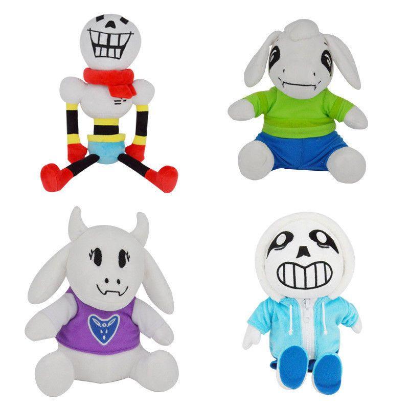 30-40cm Undertale Plush Toy Stuffed Doll Sans Papyrus Hugger Cushion Cosplay Toy