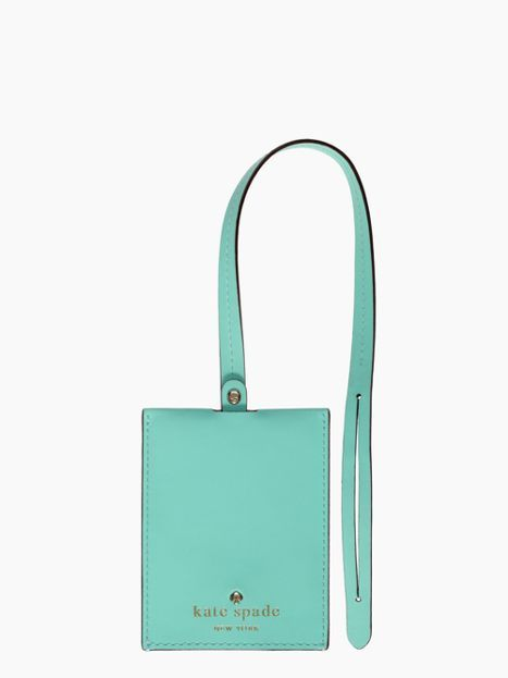 Kate Spade Bon Voyage Luggage Tag I Love Everything Except Her Hideous Dinnerware