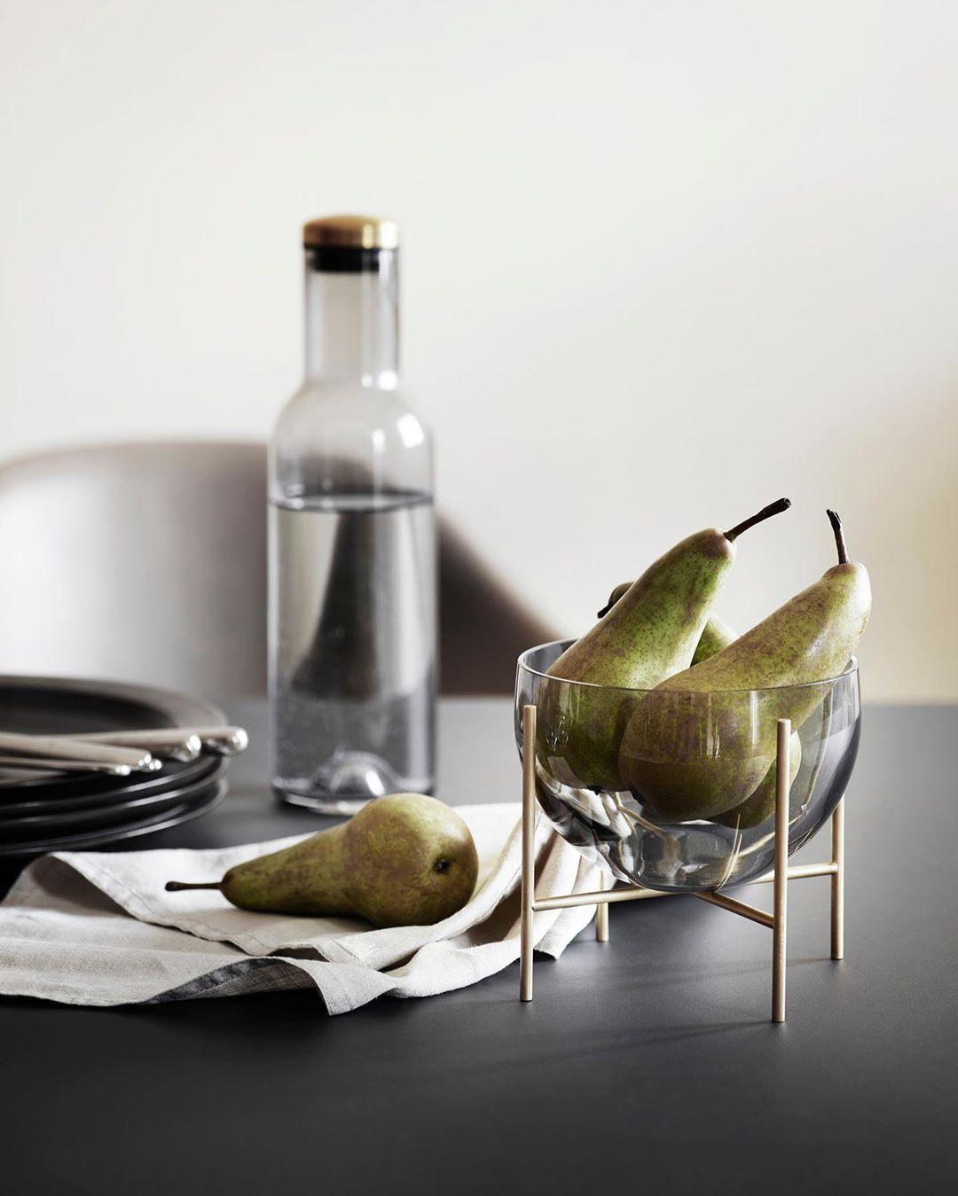 Pin By Danuta Nikiel On Kitchen Smoked Glass Menu Furniture Glass Bowl