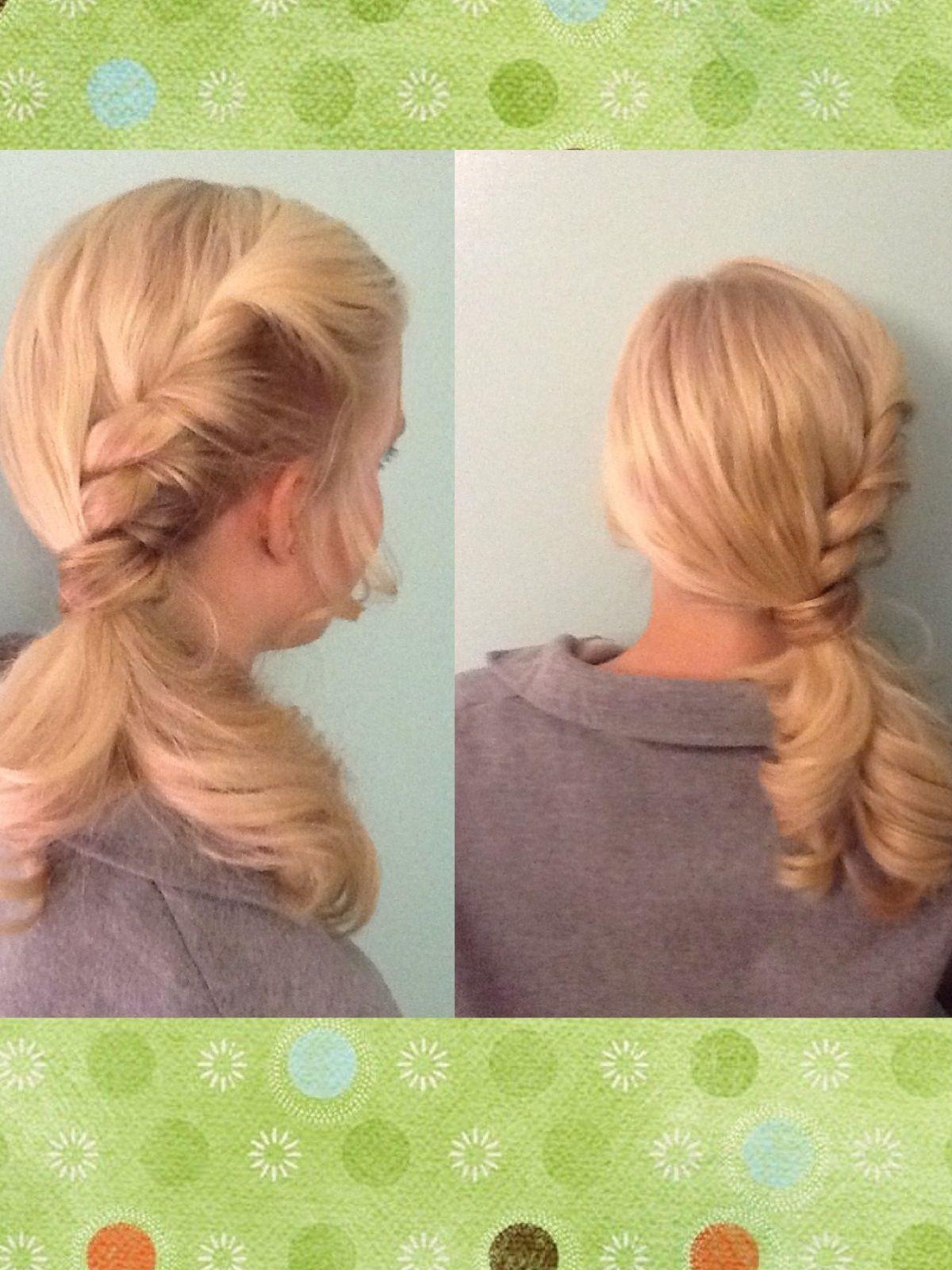 Easy hair do easy hair dous pinterest easy hair side