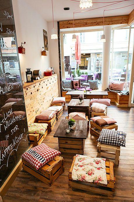 Kaffeeküche, Haidhausen : Da war ich schonmal. Sehr klein und nett ...