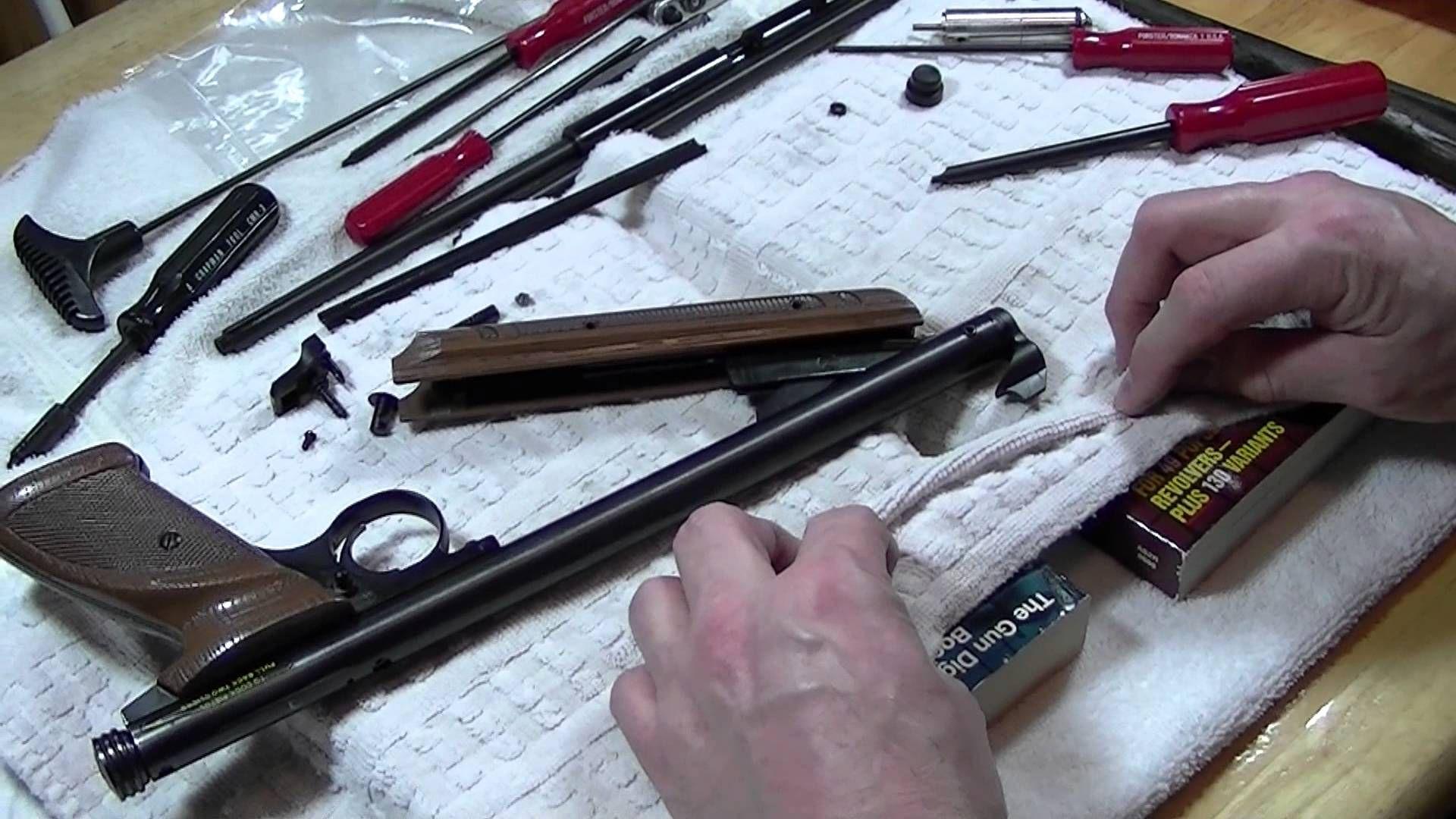 Crosman 1377 disassembly | 1377 | Guns