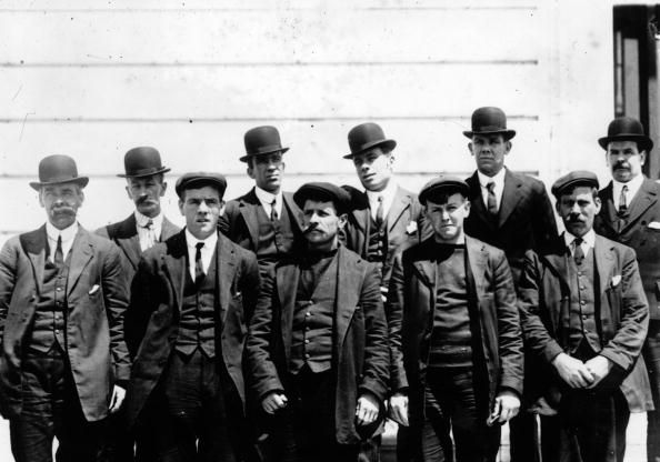 Some of the survivors of the Titanic disaster.