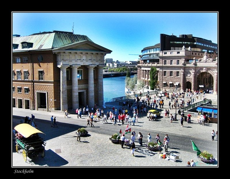 View to Coin Square, Stockholm - Stockholm