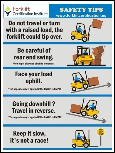 It S Better To Be Safe Than Sorry Forklift Safety