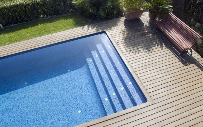 Le prix d\u0027une piscine enterrée  budget, tarifs et couts Pinterest