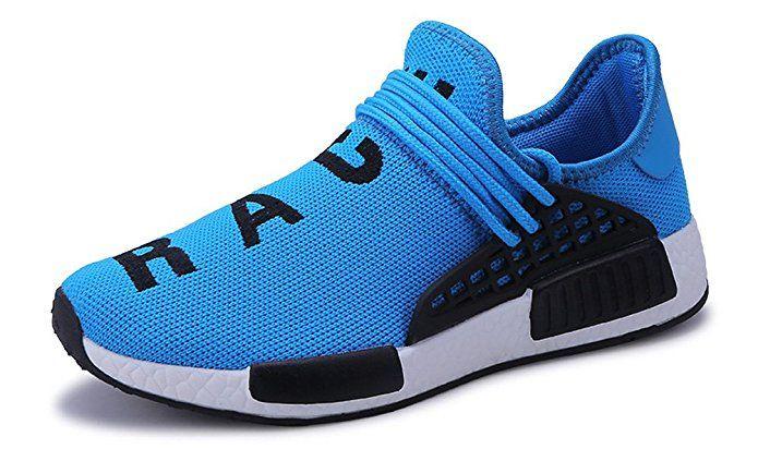 b9ec43ba4f23ea JiYe Men's Running Shoes Women's Free Transform Flyknit Fashion Sneakers,Blue,35  EU=