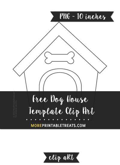 Dog House Template Clipart Clip Art House Template Dog Logos Ideas