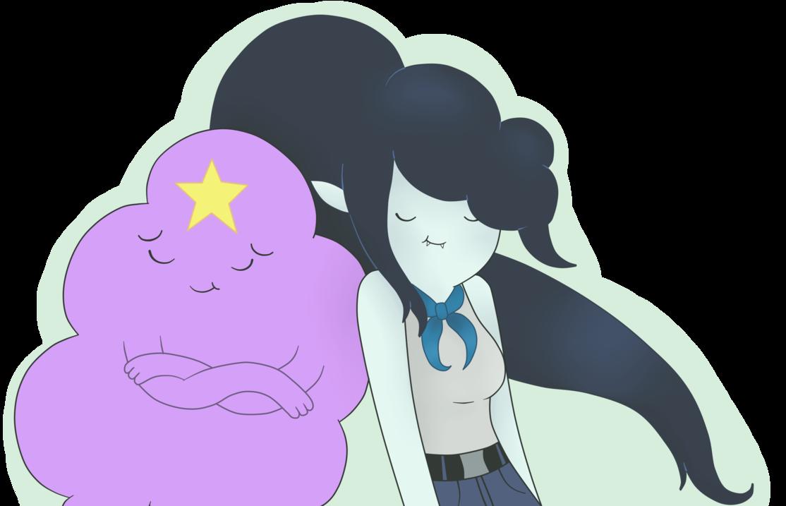 Adventure Time Princess Day princess day 6x14 – caroço e marceline por andiscissorhands
