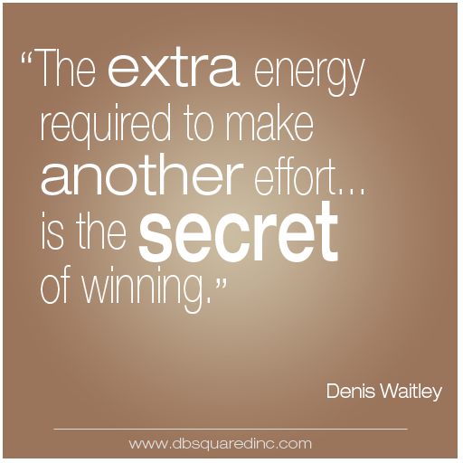 Quotes About Winning Denis Waitly Quote Secret Of Winning  This Is My Life  Pinterest .