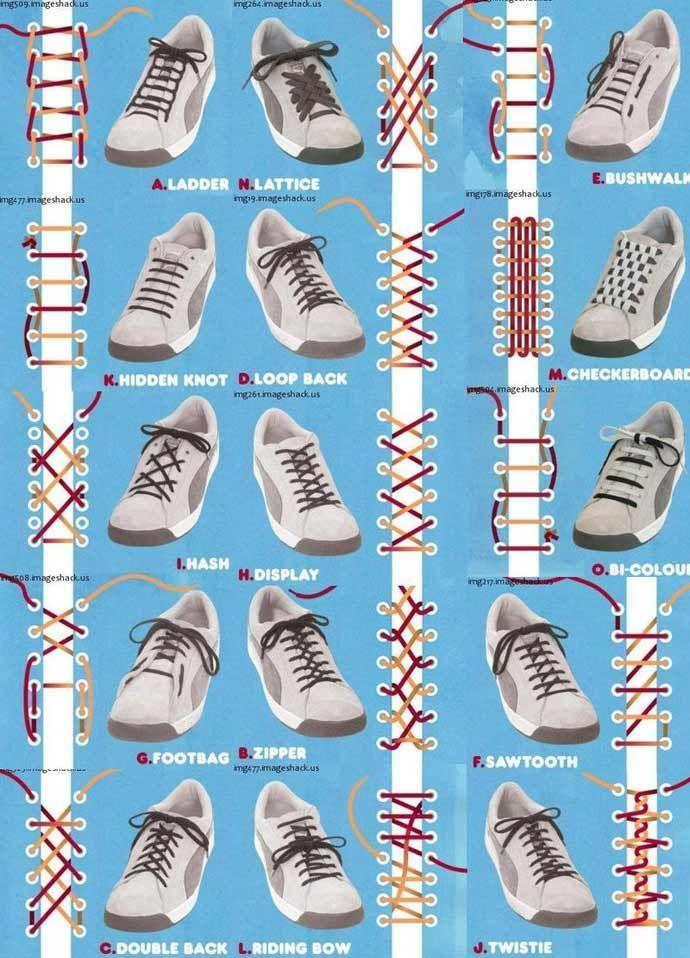no title - Schnursenkel Binden Muster