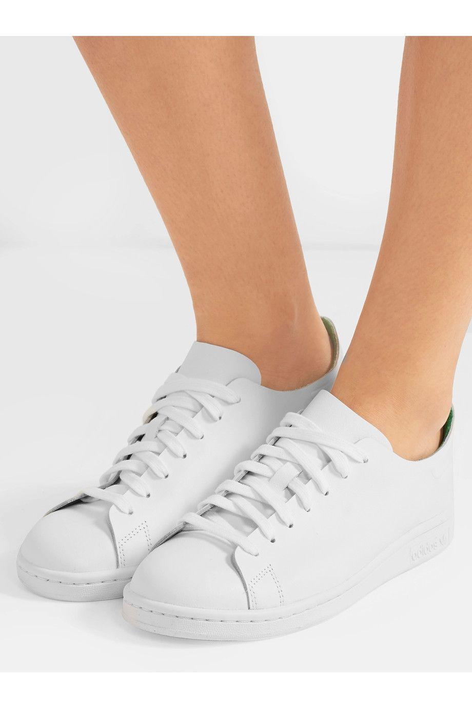 adidas stan smith nuda pelle scarpe originali netto porter