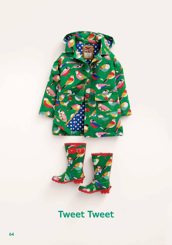 Paradiesvogel-Regen-Outfit
