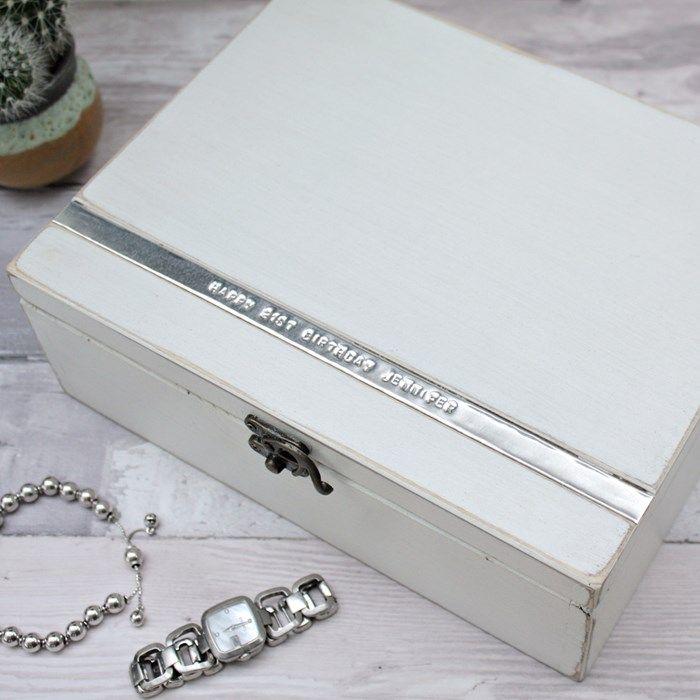Personalised Luxury Jewellery Box Homeware Inspiration Luxury