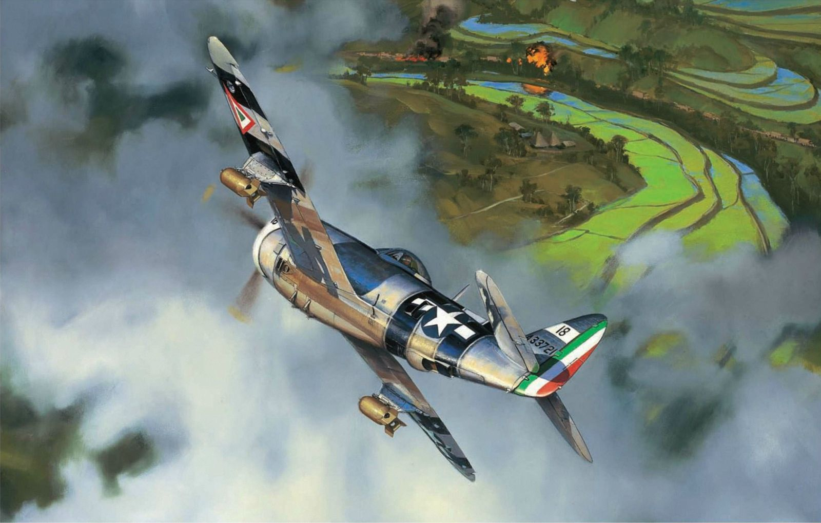 strike of the aztec eagles by jack fellows p 47 thunderbolt