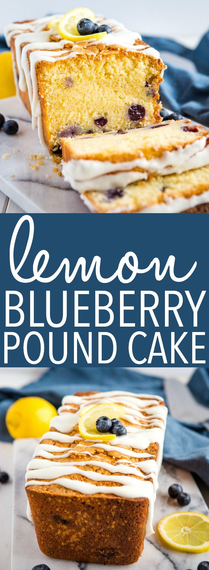 Lemon Blueberry Pound Cake | Recipe | Spring desserts ...