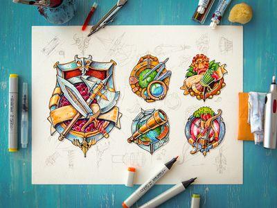 Icons #illustration #inspiration #design