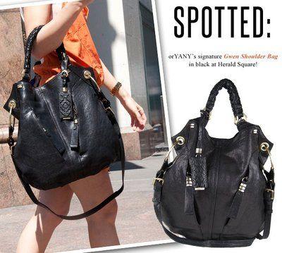 Oryany Gwen Anthropologie Black Leather Shoulder Bag Extra Large Handbag Ebay