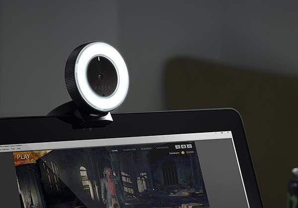 Razer Kiyo Live Stream Camera With Built In Led Ring Light Gadgetsin Razer Led Ring Light Gadgets And Gizmos
