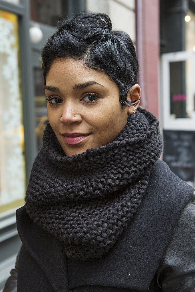 Real-Girl Winter Beauty Inspiration From the Stree
