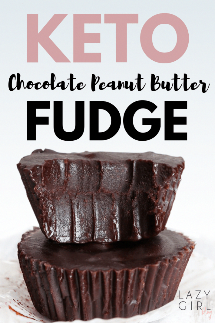 Keto Chocolate Peanut Butter Fudge -  insanely creamy, low carb, rich, satisfying and totally irresistible sugar-free. Quick and easy to make, and low in carbs which makes them perfect for the keto diet! #keto #ketodiet #ketorecipes #ketogenic #ketogenicdiet #ketogenicrecipes #lowcarb #lowcarbrecipes #dessert #sweets #chocolate #peanutbutter #sugarfree #glutenfree #KetoDietCarbsPerDay