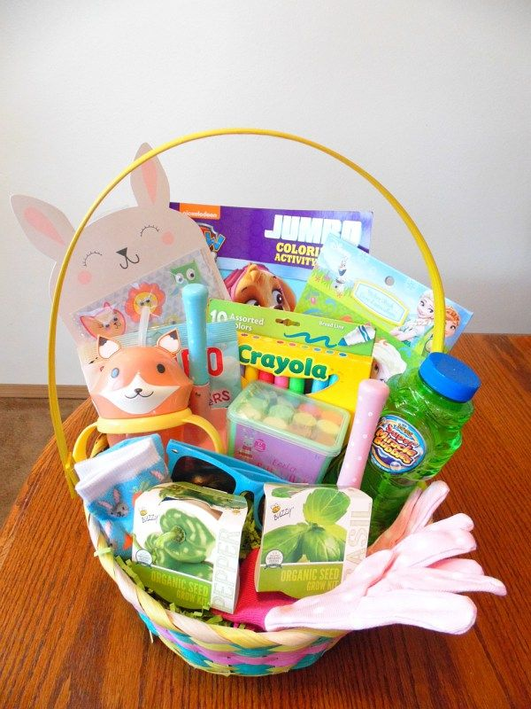 101 easter basket ideas for babies and toddlers that arent candy 101 easter basket ideas for babies and toddlers that arent candy negle Images