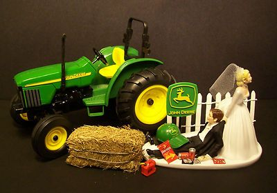John Deere Cake Toppers | Wedding Tips and Inspiration