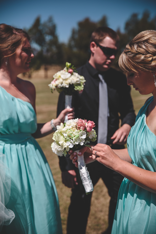 Wedding dress donation  our seafoam inspired farmhouse boutique bridesmaid dresses