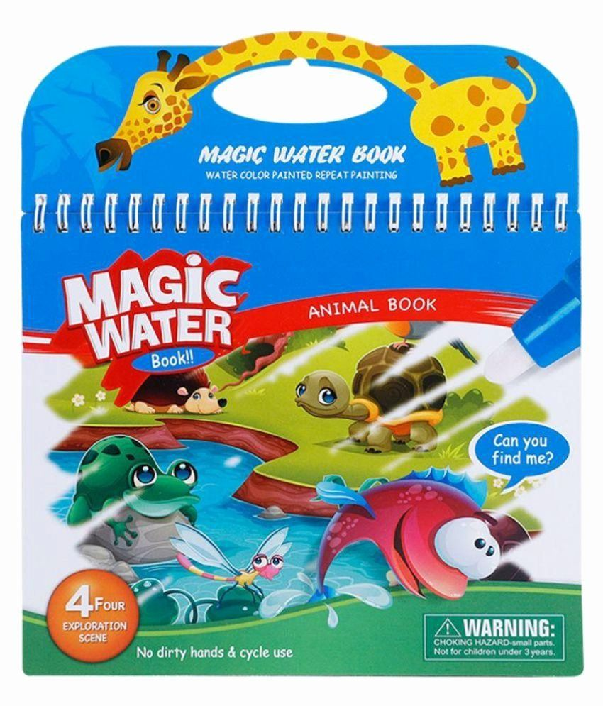 Water Magic Drawing Book New Bestie Toys Magic Water Coloring Drawing Book With Pen Kids Children Painting For Kids Halloween Coloring Pages Halloween Coloring