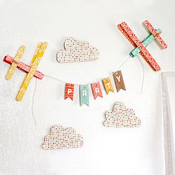 Airplane magnets. Too cute