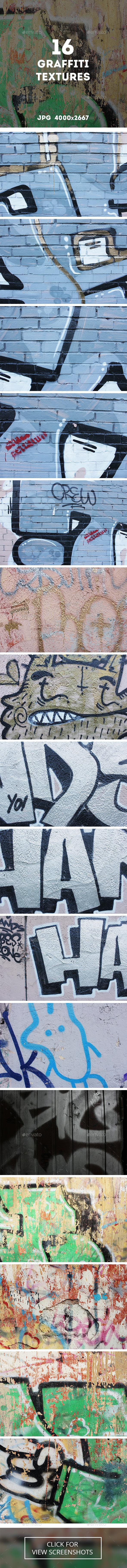 16 hi-res JPG Graffiti Textures 4000×2667 px, Download: http://graphicriver.net/item/16-graffiti-textures/12984623?ref=AVAVO  #freestyle, #graffiti, #graffitibackground, #graffititexture, #graffity, #grafiti, #grunge, #grungebackground, #grungetexture, #hiphop, # multicolor, #paint, #sprayer, #street, #streetart, #urban, #urbanart, #urban #design