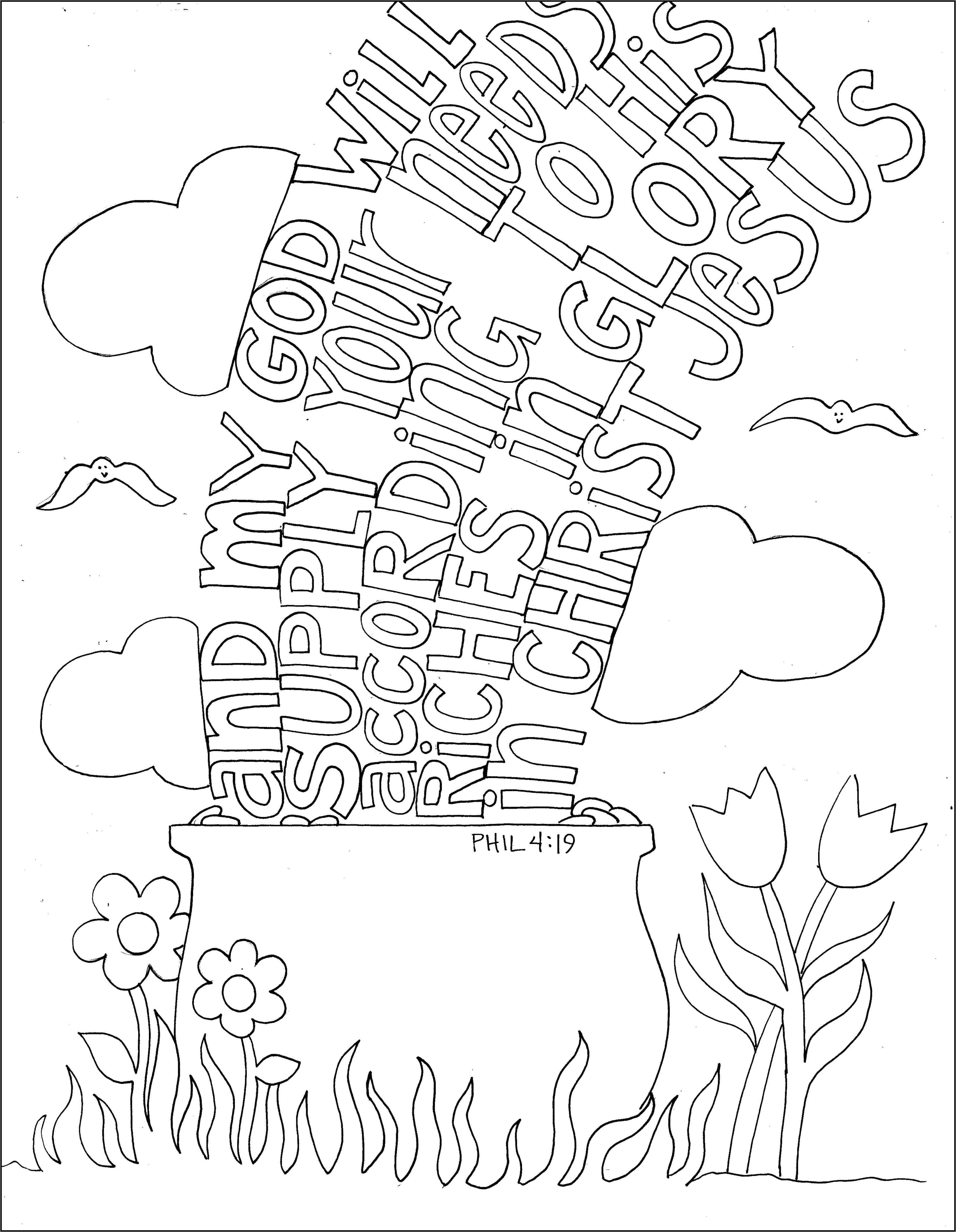 Phil 4.19 | Whole Hearted Children | Pinterest | Mandalas