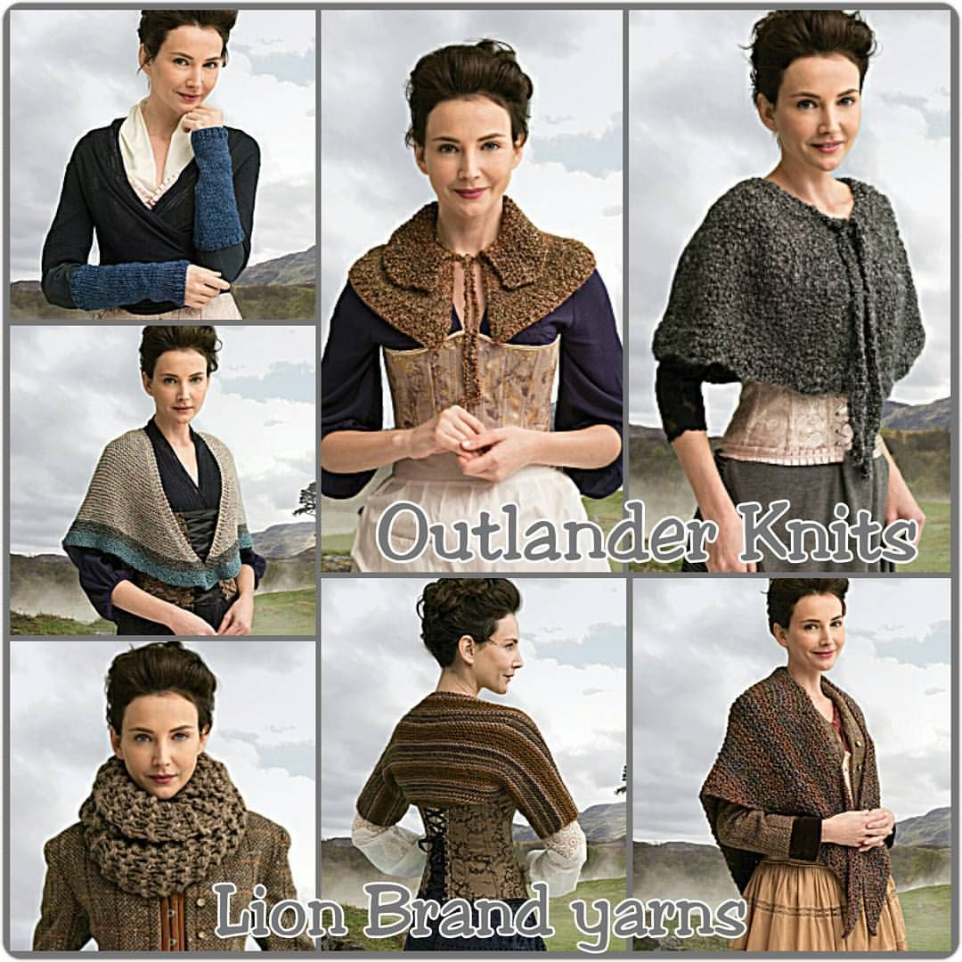inspiredbytheinane:  Words can can not express my excitement! I've already ordered the two capelets and plan on ordering the rest of them in the next month… #Outlander #KnitKits #LionBrandYarn #Starz #KnitAllTheThings