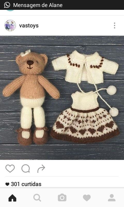 Pin de Silvia Pineda Calixto en Charles tejidos a crochet ...