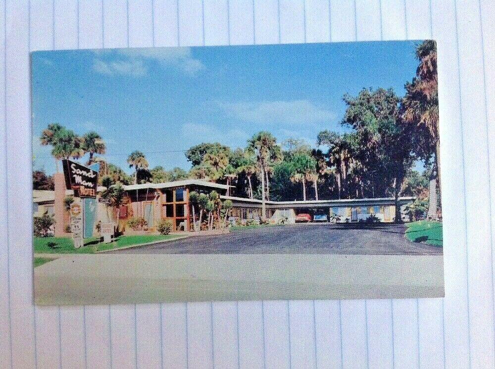 Postcard Daytona Beach Florida Sand Man Motel S Ridgewood Ave Daytona Beach Florida Florida Beaches Palace Hotel San Francisco