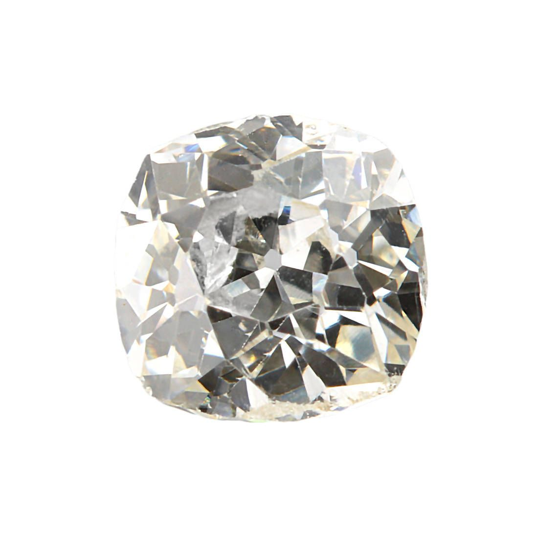 Diamond Old Mine Cut 34 Ct K Si1 Si2 Antique Loose Natural Vintage