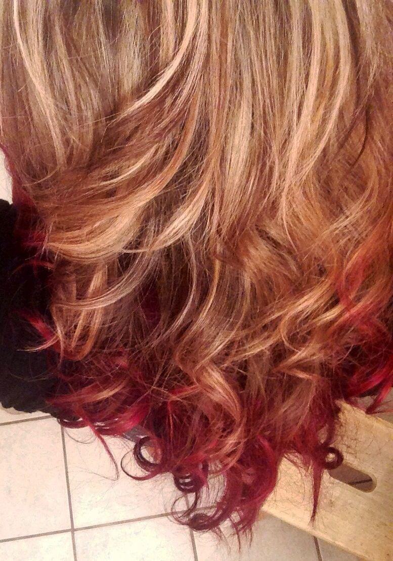 Pin By Elisa Garcia On My Hair Blonde Hair With Pink Highlights Pink Blonde Hair Ombre Hair Blonde