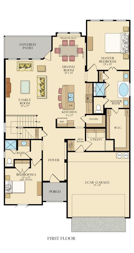Caddo 4391 New Home Plan in Heights of Cibolo by Lennar For the
